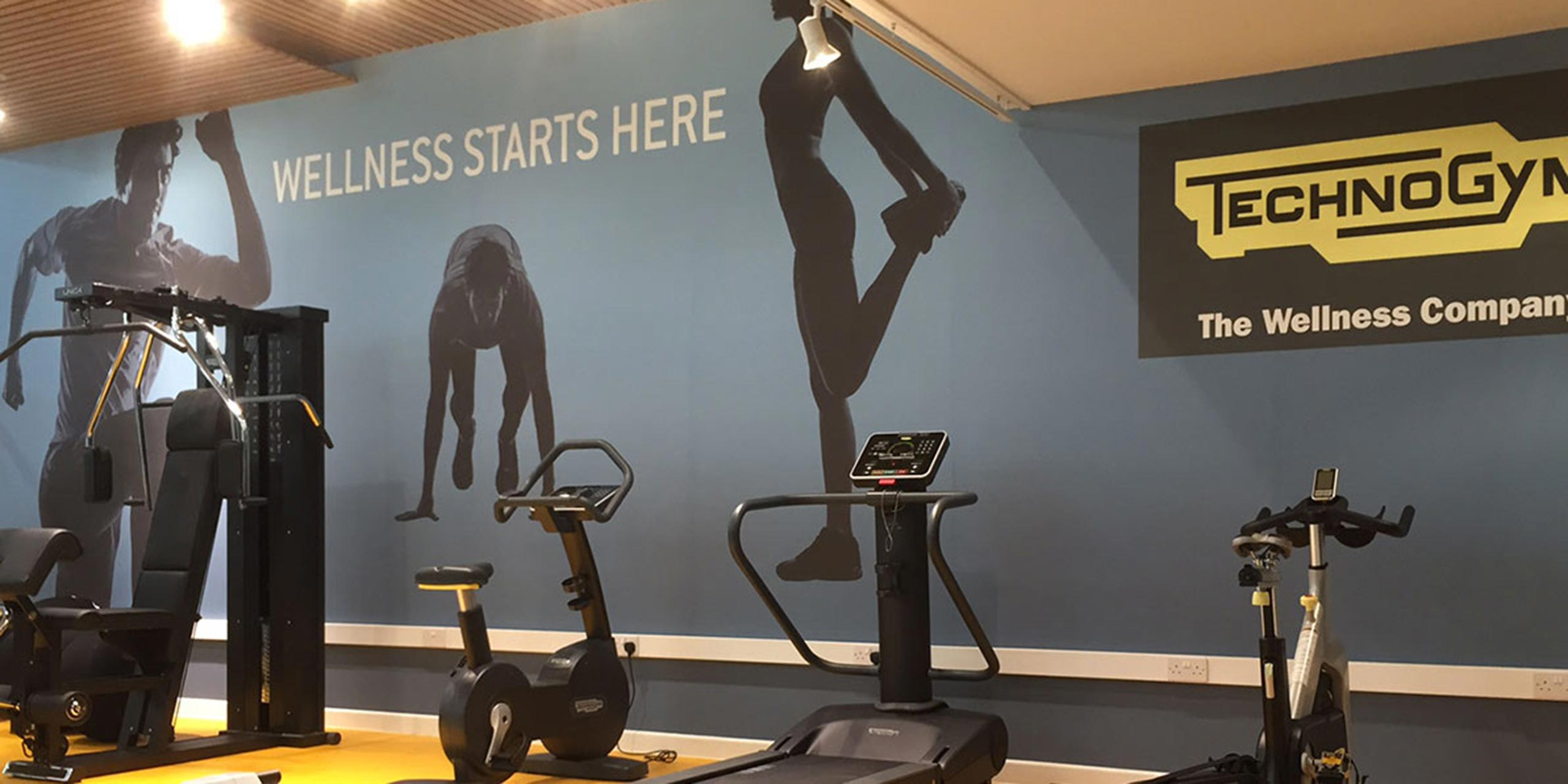 High impact update for Technogym in the UK